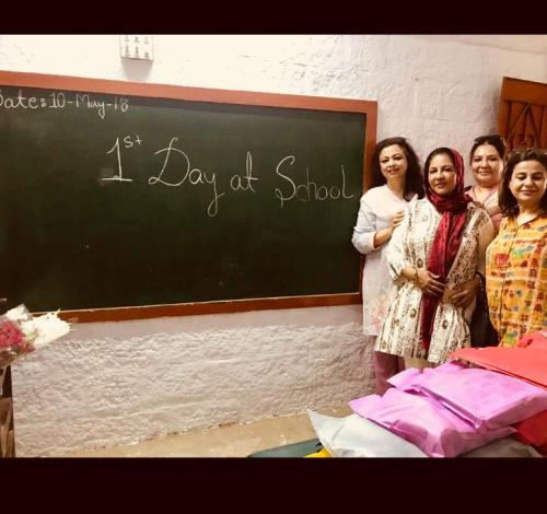 Celebrating Mothers Day with mothers of SOCF school